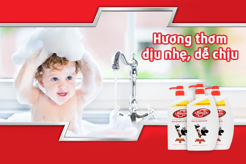 Sữa tắm Lifebuoy bảo vệ vượt trội 850g