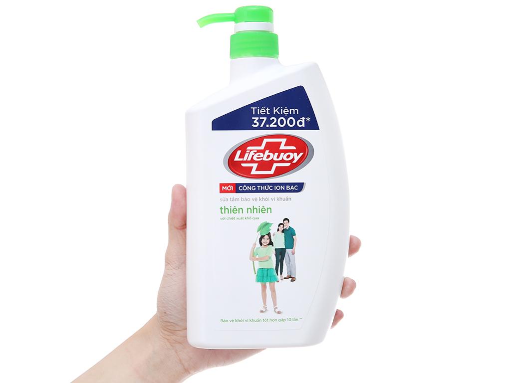 Sữa tắm bảo vệ khỏi vi khuẩn Lifebuoy Spa 833ml 4