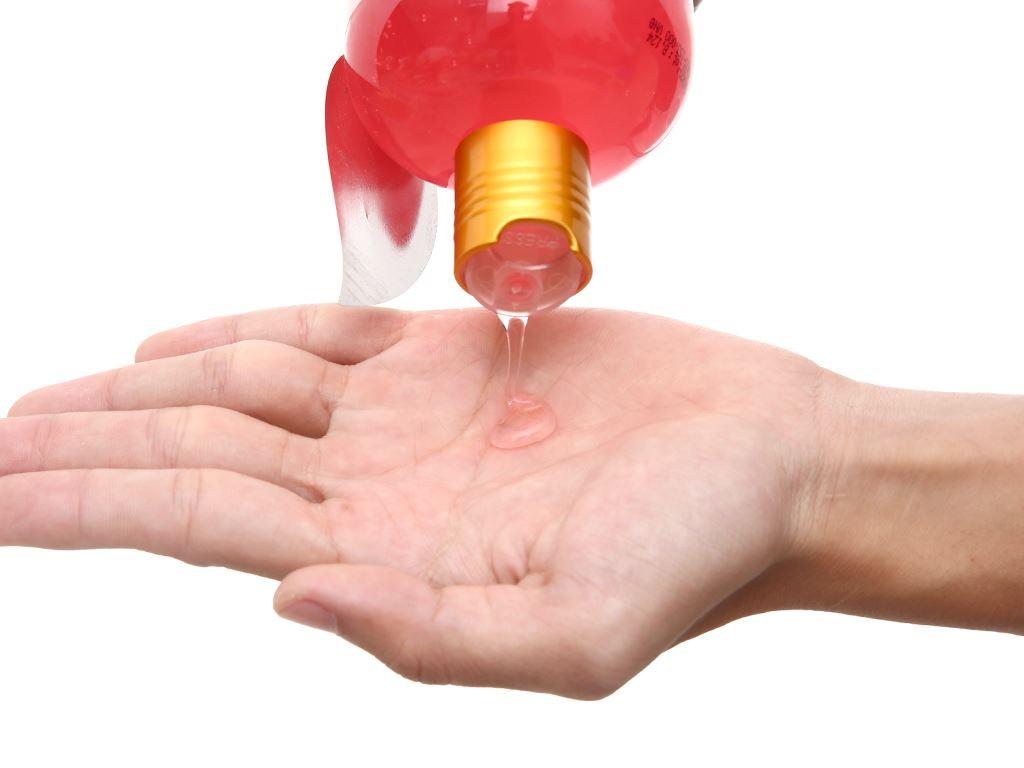 Sữa tắm mềm mịn Purité hoa hồng 500ml 6