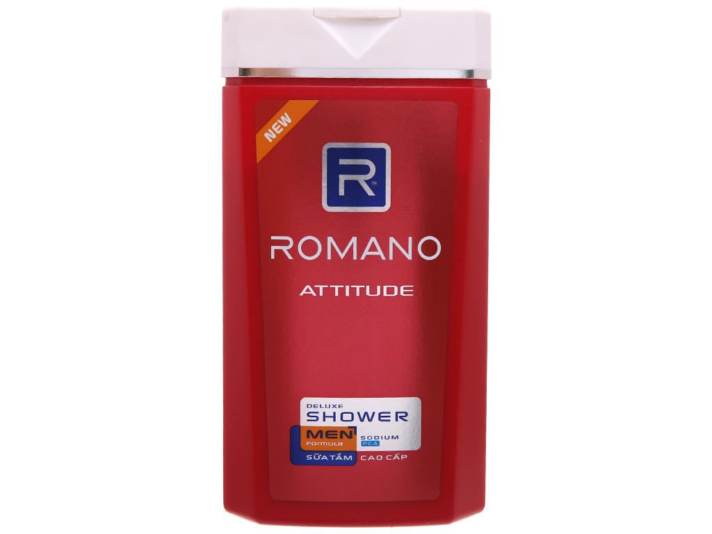 Sữa tắm Romano Attitude 380g 2