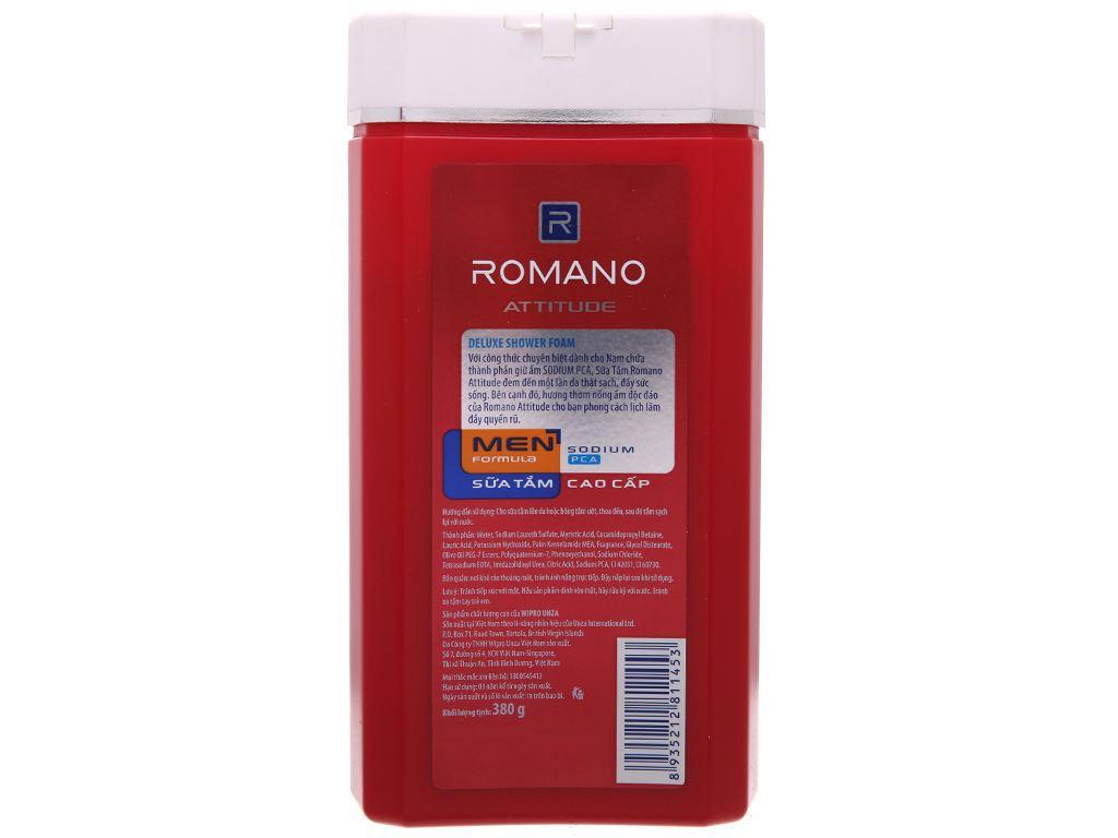 Sữa tắm Romano Attitude 380g 3