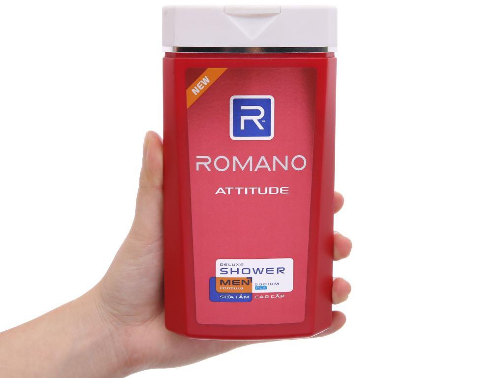 Sữa tắm Romano Attitude 380g 4