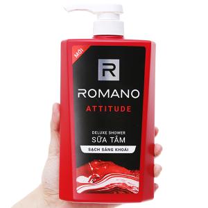 Sữa tắm nước hoa Romano Attitude sạch sảng khoái 650g