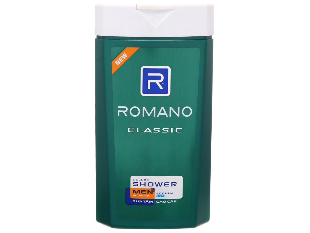 Sữa tắm Romano Classic 380g 2