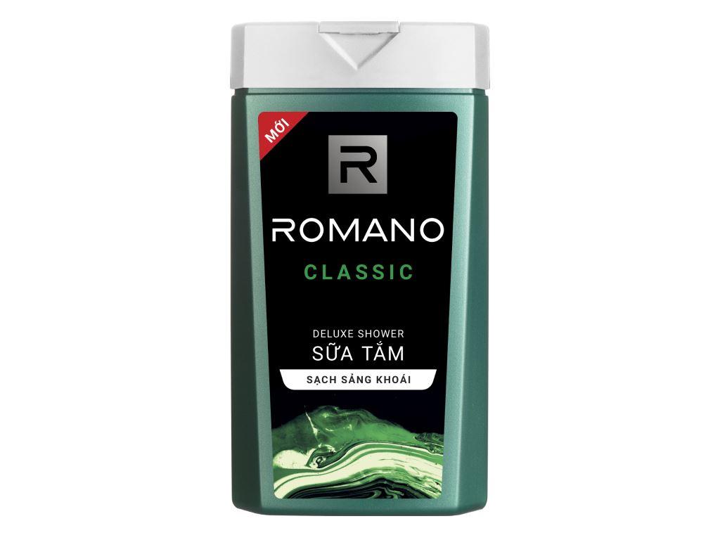 Sữa tắm Romano Classic 380g 1
