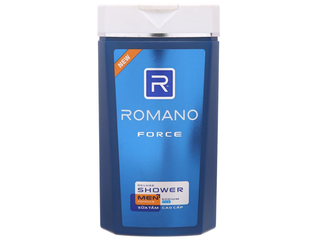 Sữa tắm Romano Force cao cấp 380g 2