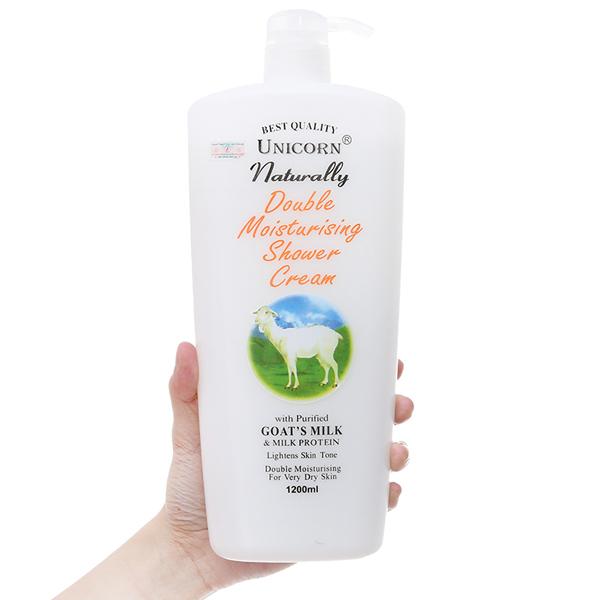 Sữa tắm Unicorn tinh chất sữa dê 1.2L
