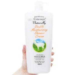 Sữa tắm Unicorn Naturally tinh chất sữa dê 1.2 lít