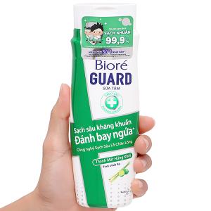 Sữa tắm sạch sâu kháng khuẩn Bioré tinh chất sả 220g