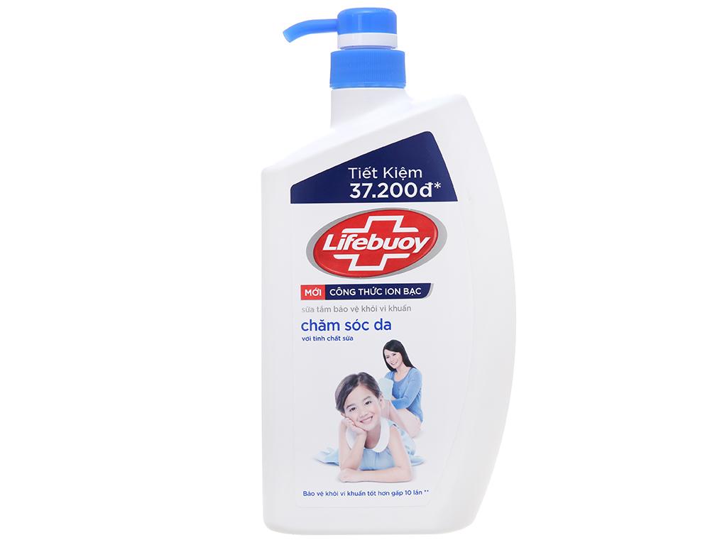 Sữa tắm bảo vệ khỏi vi khuẩn Lifebuoy chăm sóc da 833ml 2
