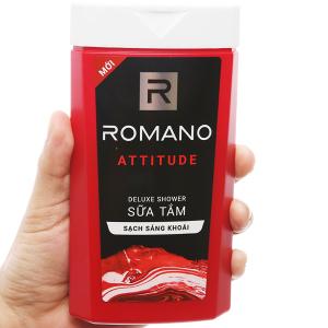 Sữa tắm nước hoa Romano Attitude sạch sảng khoái 180g