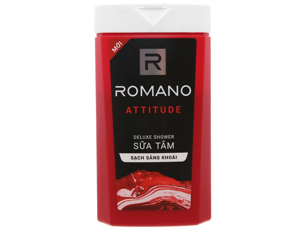 Sữa tắm nước hoa Romano Attitude sạch sảng khoái 180g 1