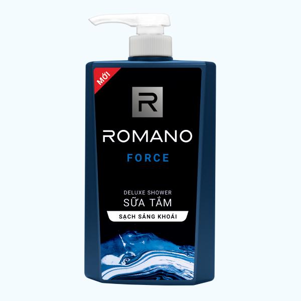 Sữa tắm Romano Force chai 650g