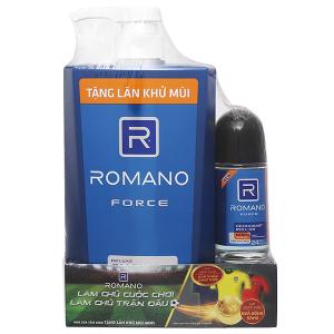 Sữa tắm cao cấp Romano Force 650g