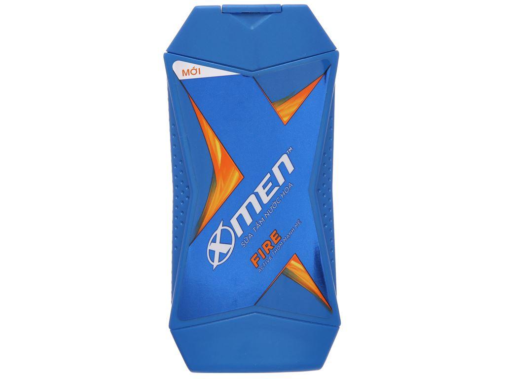 Sữa tắm nước hoa X-Men Fire Active thơm mạnh mẽ 180g 2