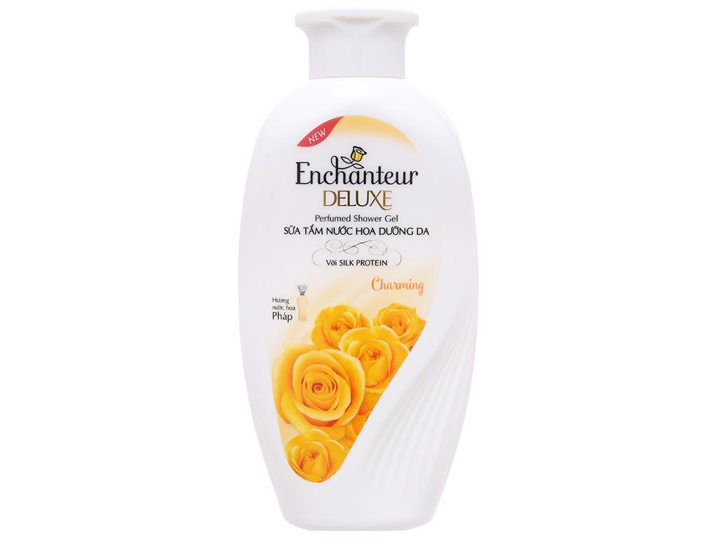 Sữa tắm nước hoa dưỡng da Enchanteur Deluxe Charming 180g 2
