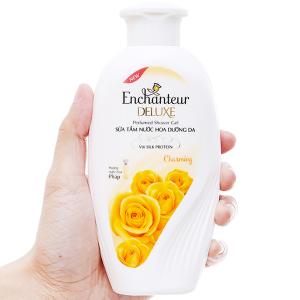 Sữa tắm nước hoa dưỡng da Enchanteur Deluxe Charming 180g