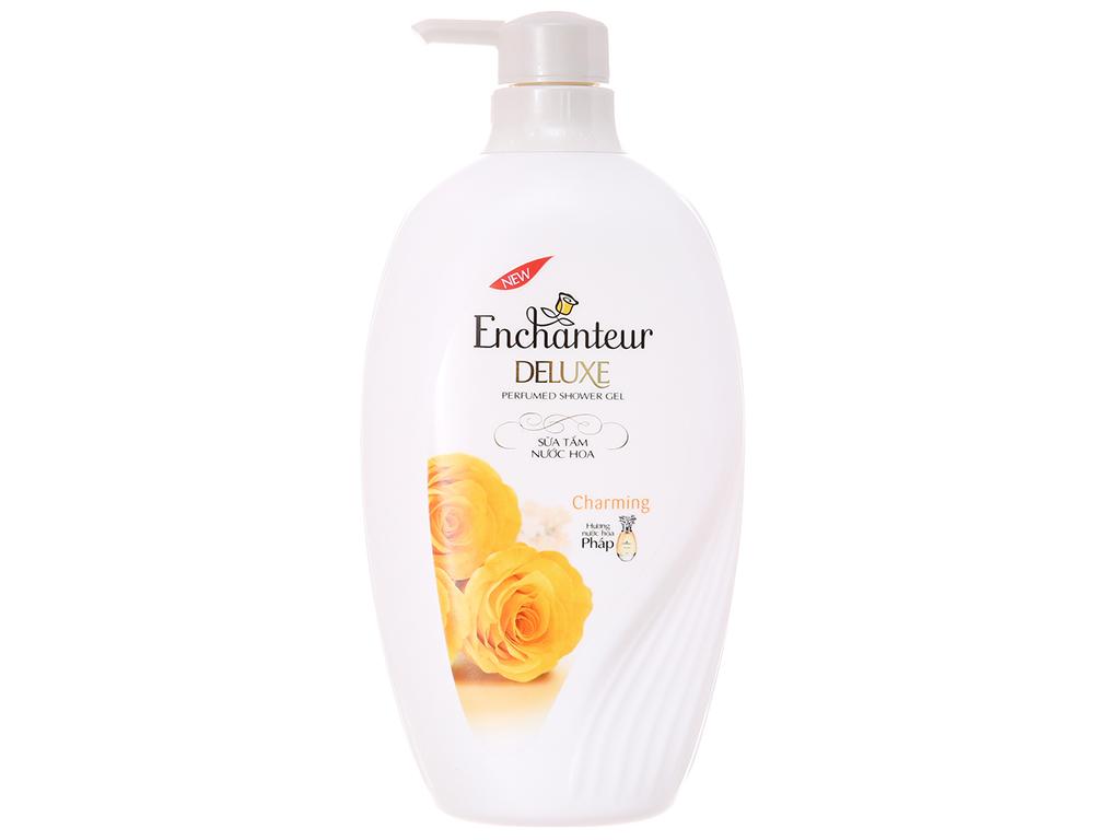 Sữa tắm Enchanteur hương nước hoa Pháp 650g 2