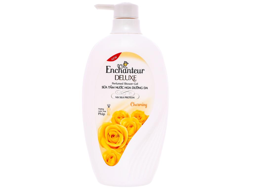 Sữa tắm nước hoa dưỡng da Enchanteur Deluxe Charming 650g 1