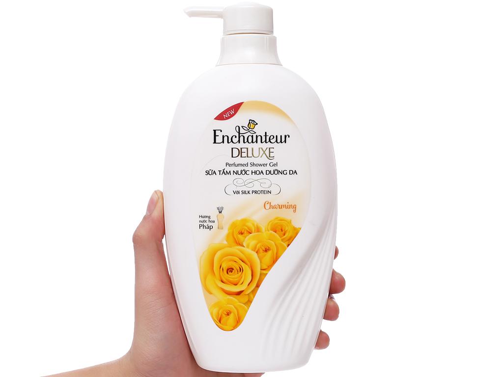 Sữa tắm nước hoa dưỡng da Enchanteur Deluxe Charming 650g 3