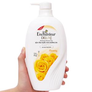 Sữa tắm nước hoa dưỡng da Enchanteur Deluxe Charming 650g