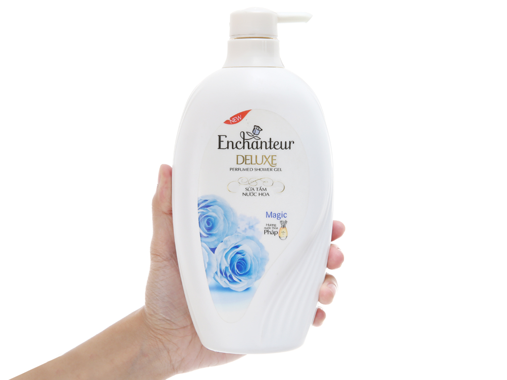 Sữa tắm nước hoa Enchanteur Deluxe Magic 650g 4