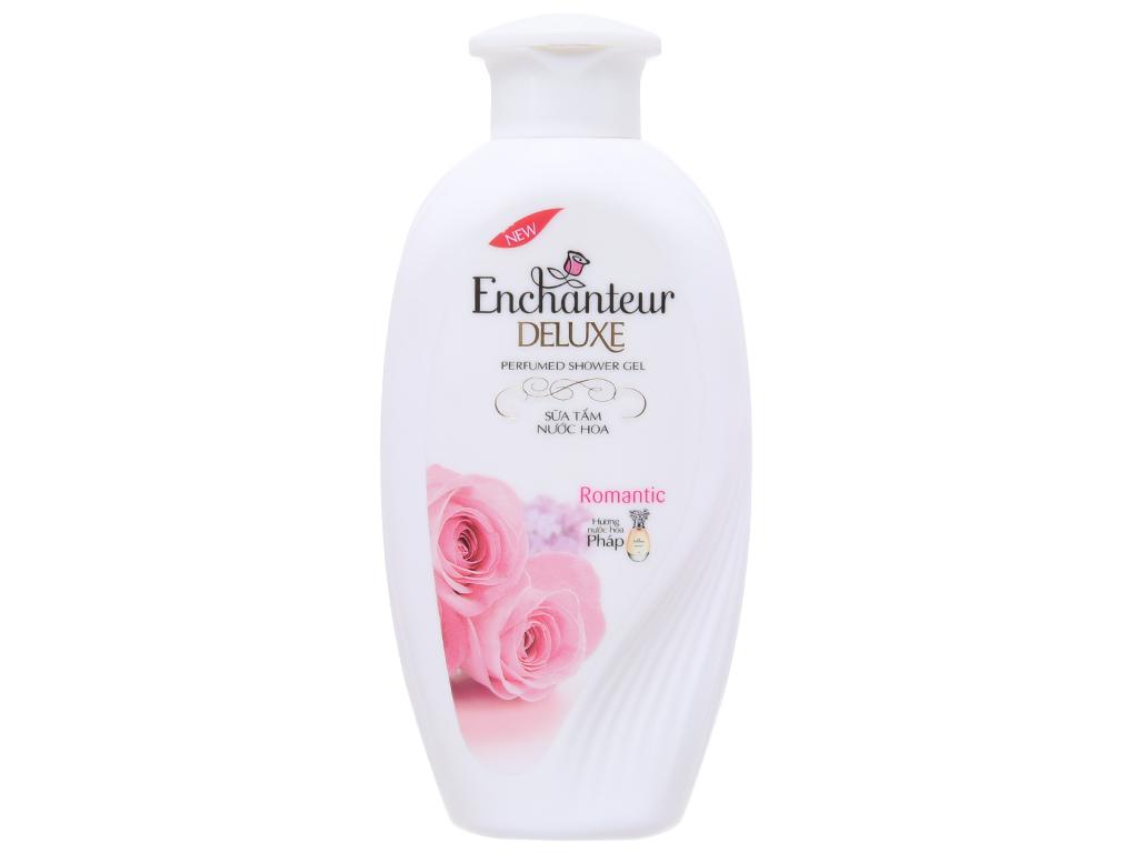 Sữa tắm Enchanteur Deluxe Romantic hương nước hoa Pháp 180g 2