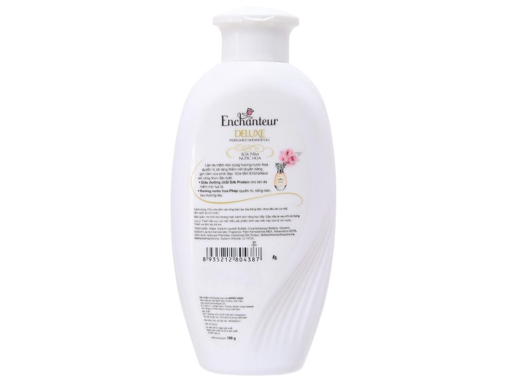 Sữa tắm Enchanteur Deluxe Romantic hương nước hoa Pháp 180g 3