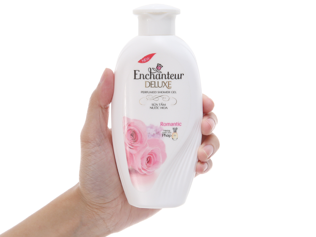 Sữa tắm Enchanteur Deluxe Romantic hương nước hoa Pháp 180g 4