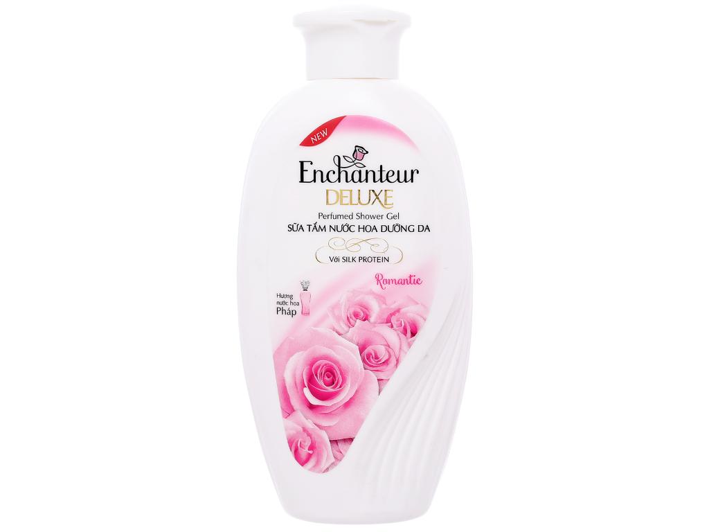 Sữa tắm nước hoa dưỡng da Enchanteur Deluxe Romantic 180g 1