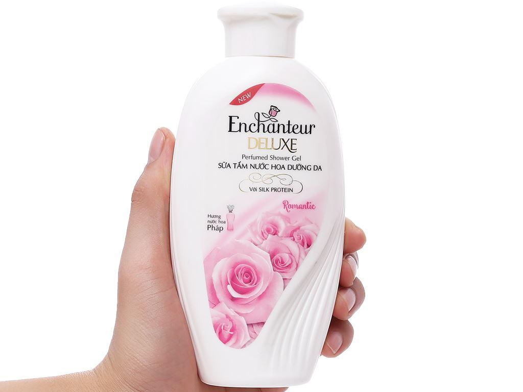 Sữa tắm nước hoa dưỡng da Enchanteur Deluxe Romantic 180g 3