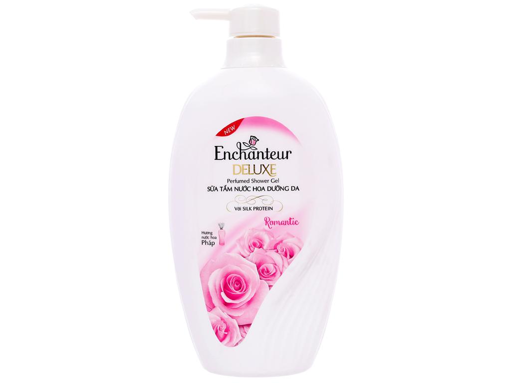 Sữa tắm nước hoa dưỡng da Enchanteur Deluxe Romantic 650g 1