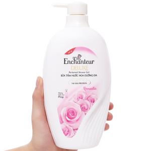 Sữa tắm nước hoa dưỡng da Enchanteur Deluxe Romantic 650g