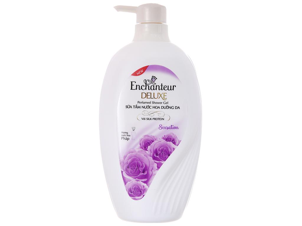 Sữa tắm nước hoa dưỡng da Enchanteur Deluxe Sensation 650g 2