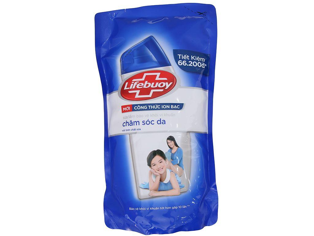 Sữa tắm Lifebuoy chăm sóc da với tinh chất sữa 850g 2