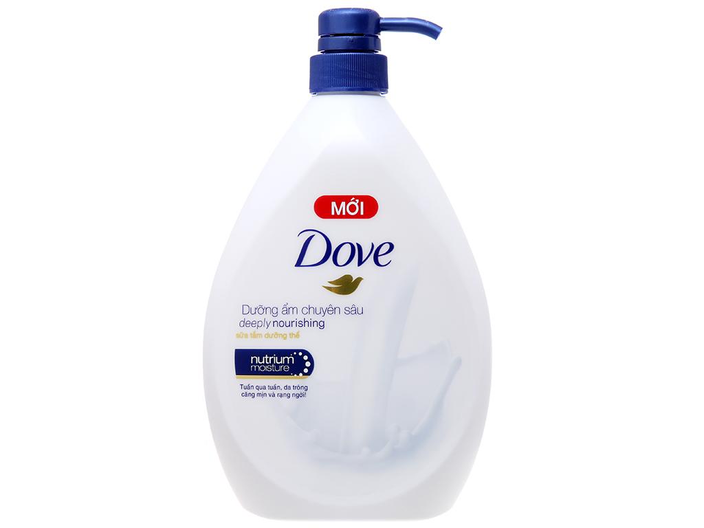Sữa tắm dưỡng thể Dove dưỡng ẩm chuyên sâu 896ml 2