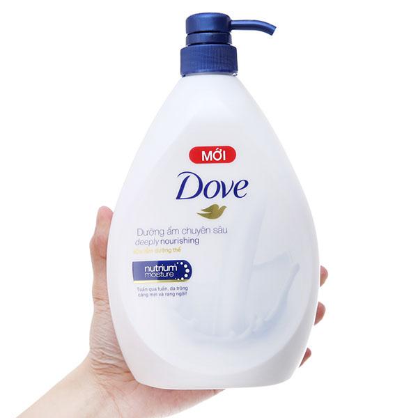 Sữa tắm Dove dưỡng ẩm chuyên sâu 900g