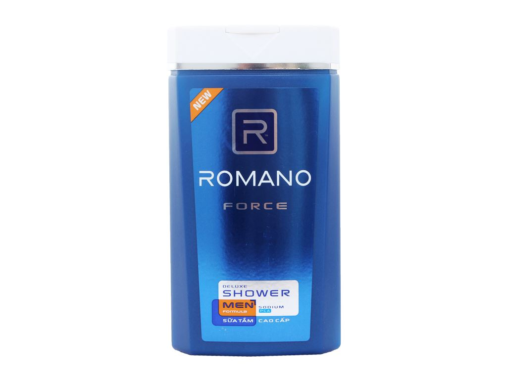 Sữa tắm Romano Force 180g 1