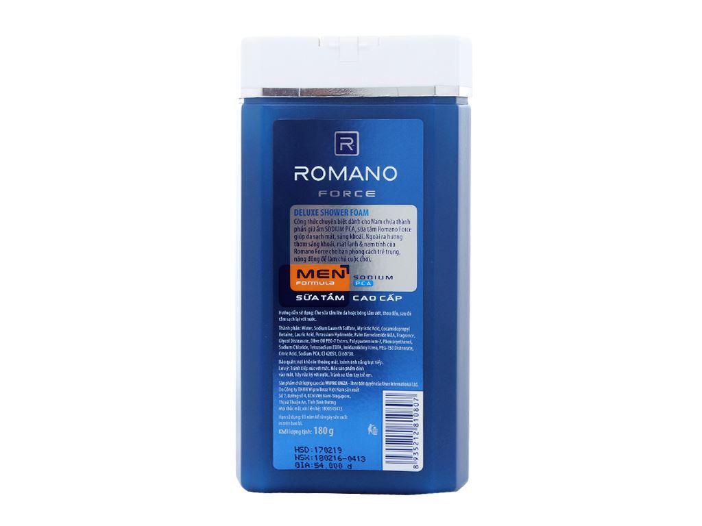 Sữa tắm Romano Force 180g 2