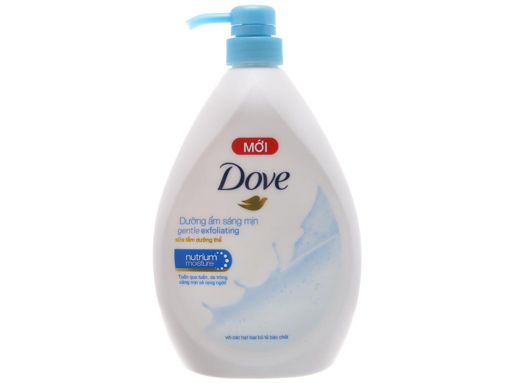 Sữa tắm dưỡng thể có hạt Dove dưỡng ẩm sáng mịn 896ml 2