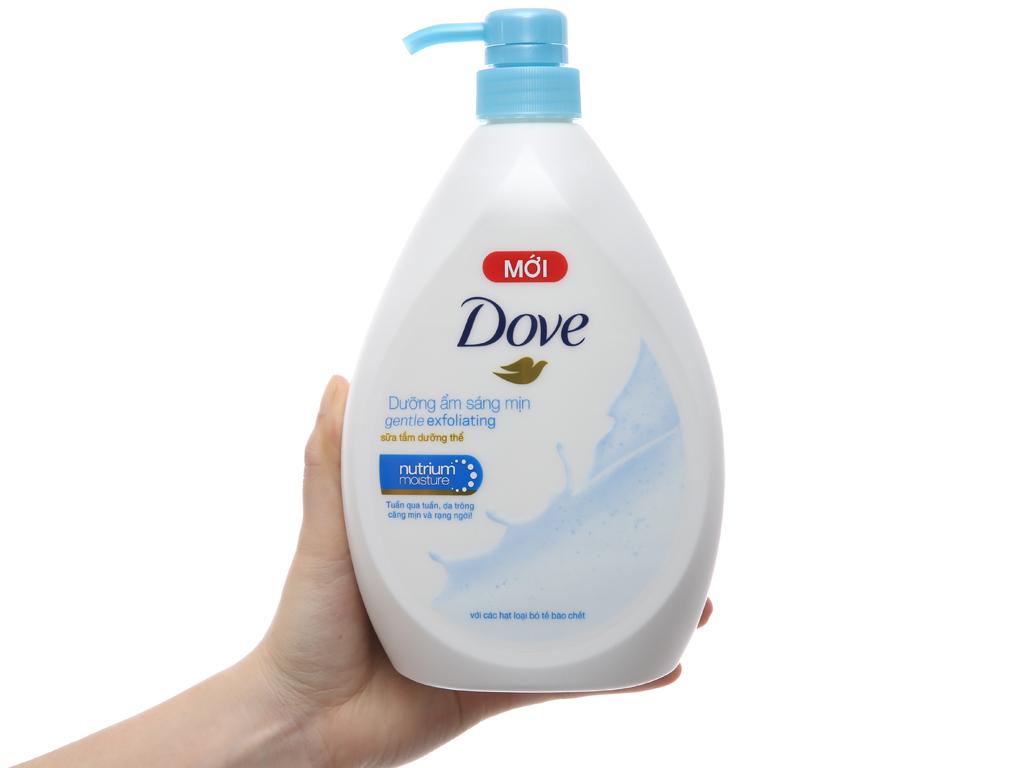 Sữa tắm dưỡng thể có hạt Dove dưỡng ẩm sáng mịn 896ml 4