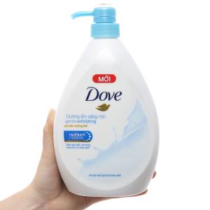 Sữa tắm Dove dưỡng ẩm sáng mịn 900g