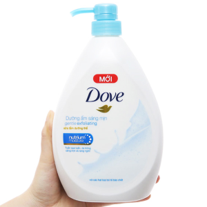 Sữa tắm dưỡng thể có hạt Dove dưỡng ẩm sáng mịn 896ml