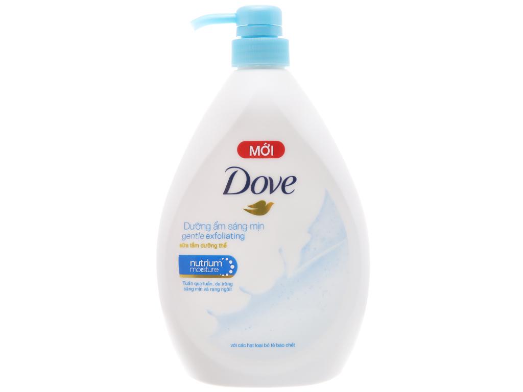 Sữa tắm dưỡng thể có hạt Dove dưỡng ẩm sáng mịn 896ml 1