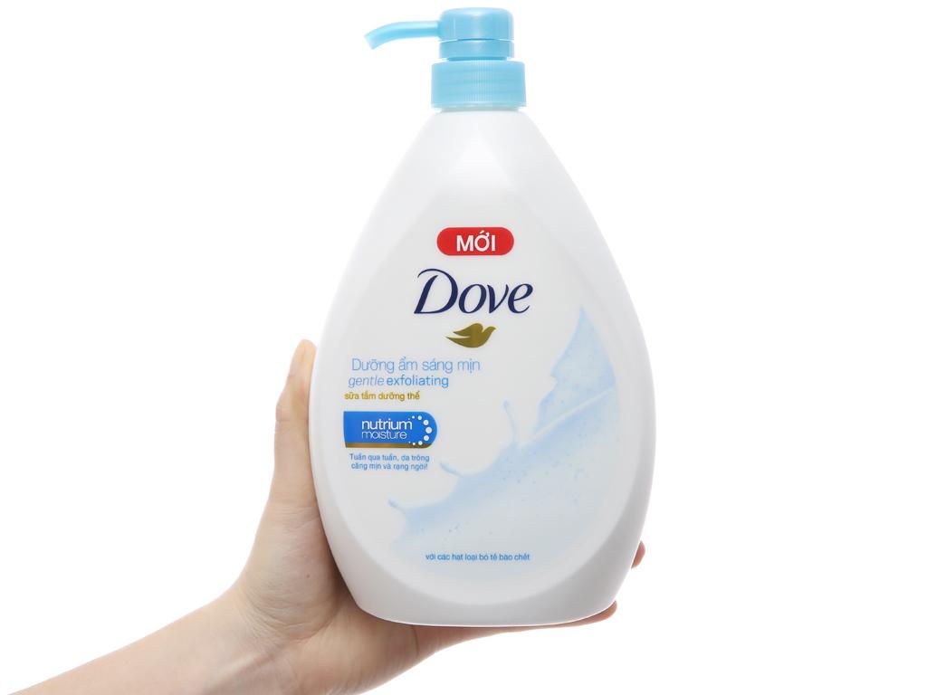Sữa tắm dưỡng thể có hạt Dove dưỡng ẩm sáng mịn 896ml 3