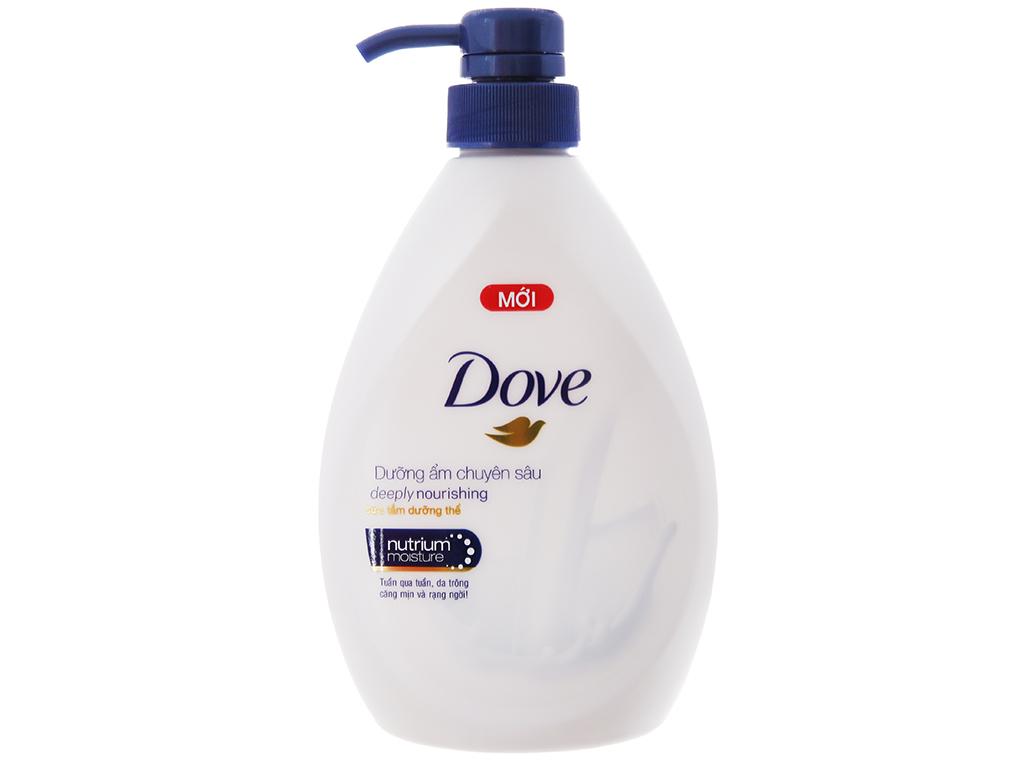 Sữa tắm dưỡng thể Dove dưỡng ẩm chuyên sâu 527ml 2