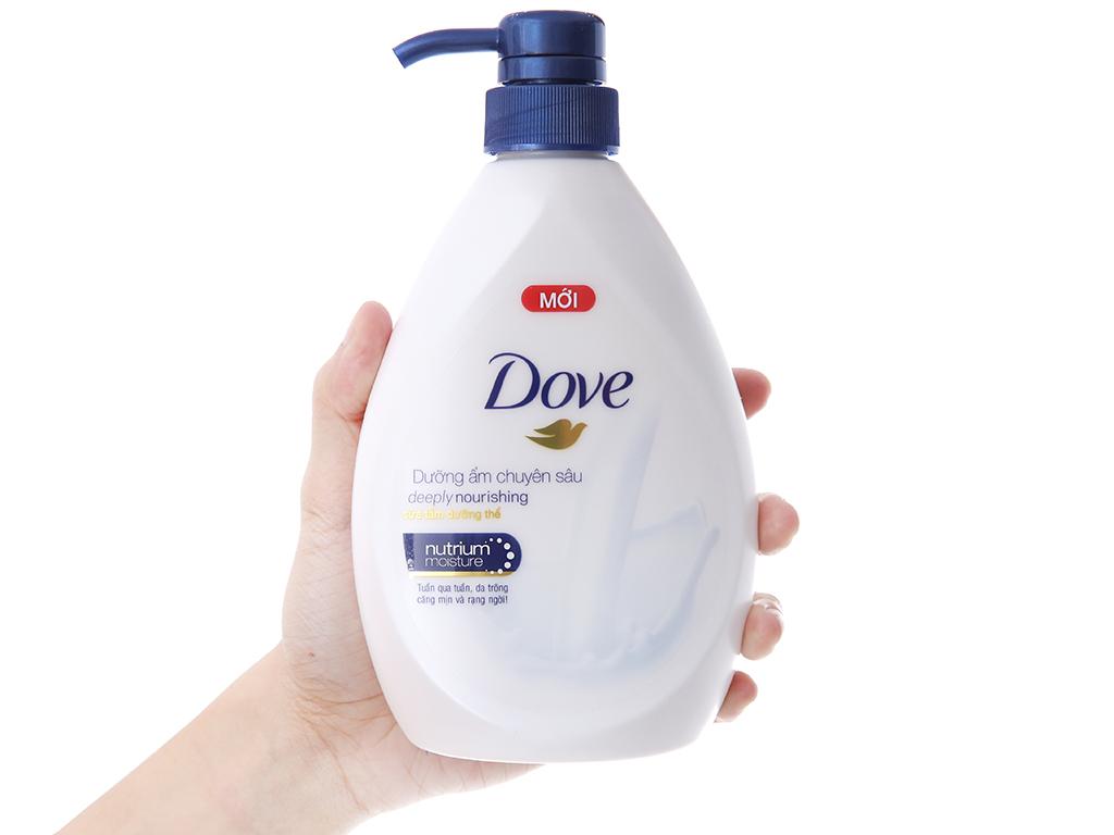 Sữa tắm dưỡng thể Dove dưỡng ẩm chuyên sâu 527ml 5