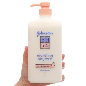 Sữa tắm dưỡng thể Johnson's pH 5.5 dầu hạnh nhân 750ml