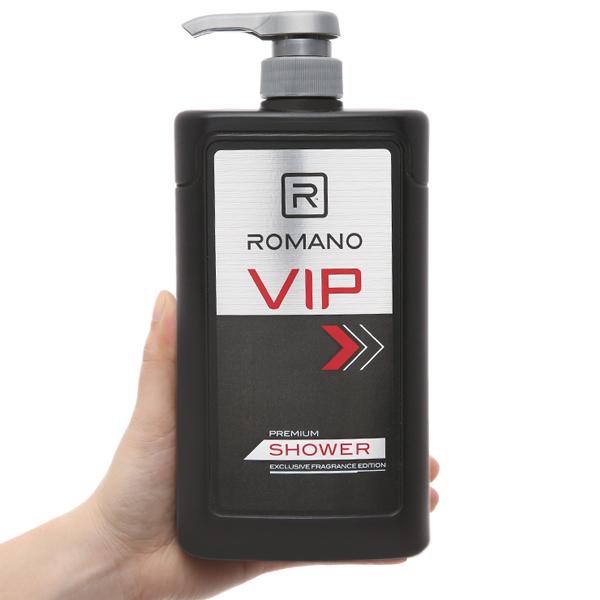 Sữa tắm nước hoa cao cấp Romano Vip 650g