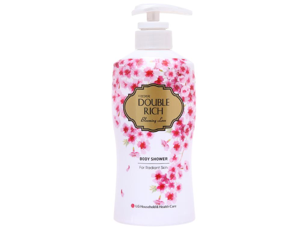 Sữa tắm hoa anh đào Double Rich Blooming Love 350g 2